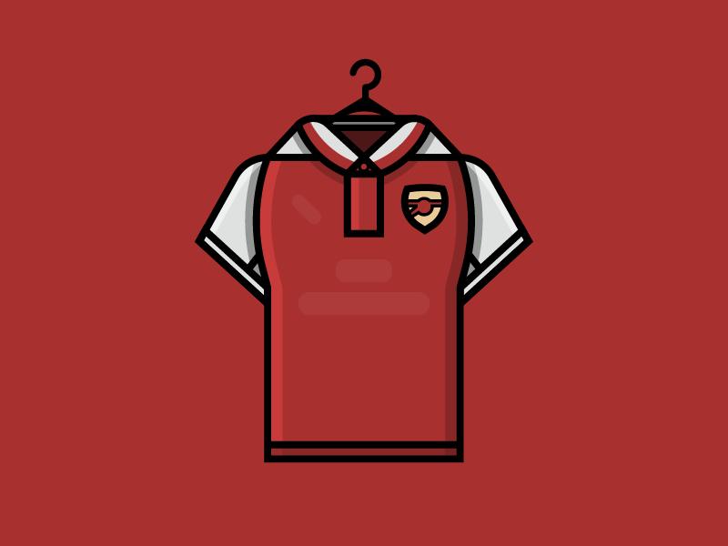 Kit of Arsenal