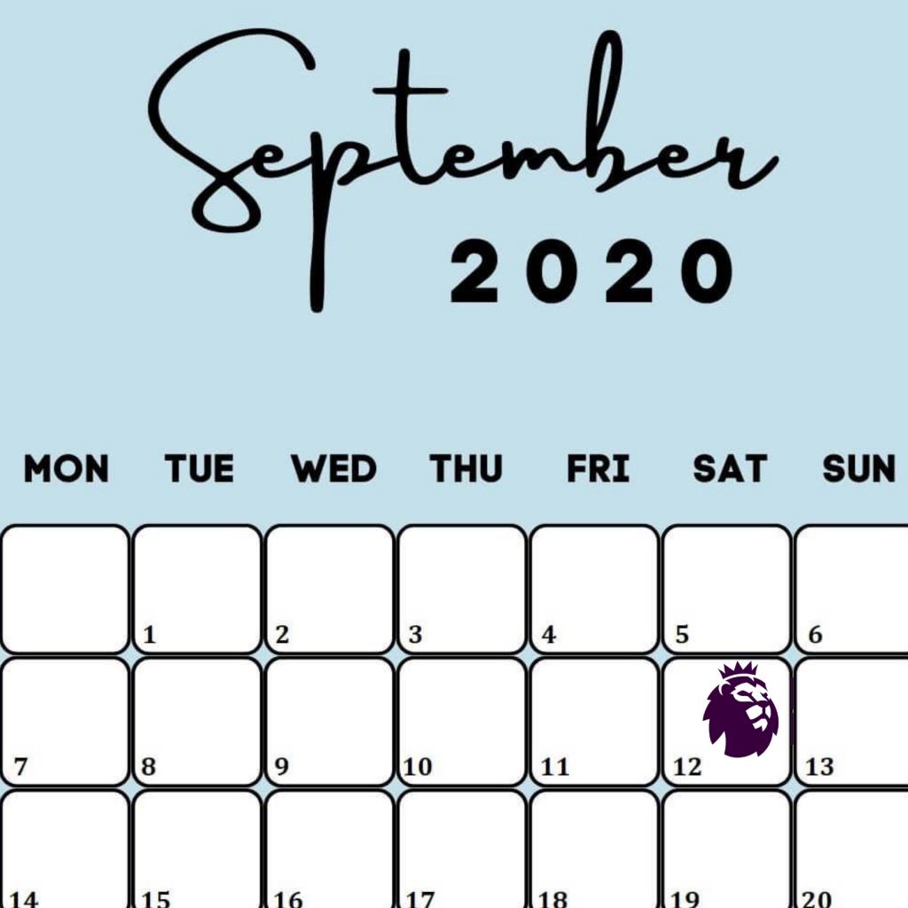 Schedule for Premier league.